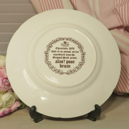 """this plate is entitled """"alas! poor bruin"""" and is the third in the series reproduced from the Original Pratt prints"""