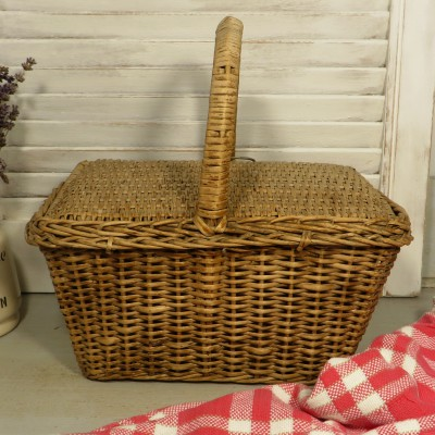 sewing basket or kitchen storage