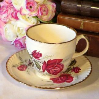 Harvest Rose Tea Duo Cup and Saucer.  A pretty tea cup and saucer